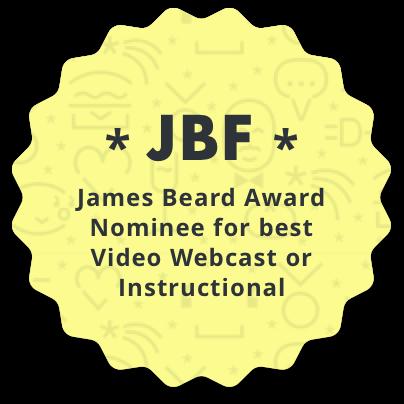 2017 James Beard Award Nominee
